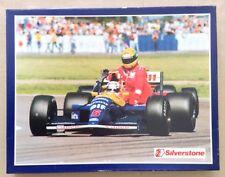 Ayrton Senna Nigel Mansell Jigsaw Puzzle 1991 British Grand prix F1 silverstone