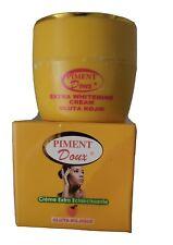 Creme eclaircissante visage gluta kojic au piment,point noir,  anti  tache