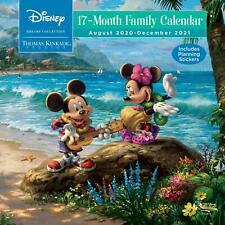 Thomas Kinkade - Disney Family - 2021 Wall Calendar - Brand New - 855994