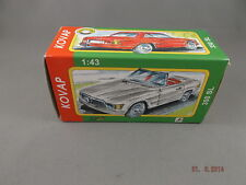 Tin Toy Car - Mercedes 350 SL Coupe  Silver KOVAP