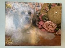Vintage Sealed Golden Ron Kimball 550 Piece Puzzle Dog New In Box