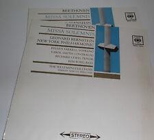SBRG 72013/4 Beethoven Missa Solemnis New York Philharmonic Leonard Bernstein