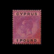 CYPRUS 1923 ONE POUND MNH STAMP