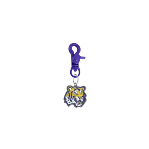 LSU Tigers Pet Tag Collar Charm COLOR EDITION College Dog Cat