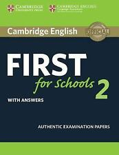 FCE Practice Tests: Cambridge English First for Schools 2 Student's Book with...