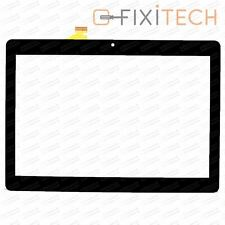 Schwarz Touchscreen Display Glas Digitizer Kompatibel mit Odys Thor 10 Plus