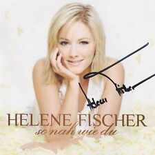 "HELENE FISCHER ""So nah wie du"" CD Album NEU signiert IN PERSON Autogramm RAR"