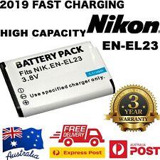 EN-El23 ENEL23 Battery / Charger for Nikon Coolpix P600 P610S S810C P900S AU