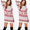 Womens Christmas Evening Party Club Bodycon Dress Ladies Xmas Mini Dresses 2018