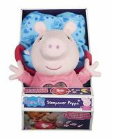 Peppa Pig Sleepover Light Up Musical Soft Push Toy Doll