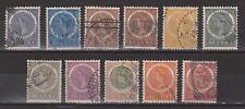 Nederlands Indie Indonesie Netherlands Indies 48-57 used Wilhelmina 1903