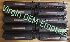 10 Virgin Genuine Empty Canon X-25 Toner Cartridges FREE SHIPPING X25