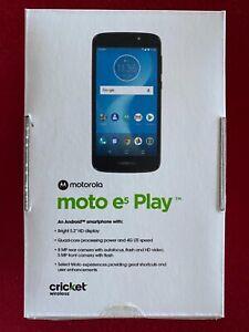 NEW Motorola Moto e5 Play Smartphone Cricket - New - Cricket ONLY