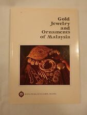 GOLD JEWELRY and ORNAMENTS of MALAYSIA Paperback Book Full color Pictures