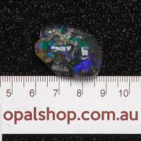 Nobby Opal from Lightning Ridge Black Opal Country, Opal Rough Single - Ro1803