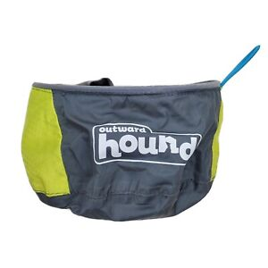 Outward Hound Lightweight Collapsible Backpacking Travel Dog Bowl EXCELLENT