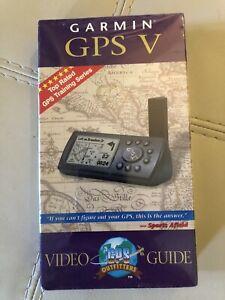 Garmin GPS V Video VCR Guide Instruction Personal Navigator Training Series 2002