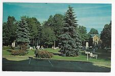 Lake Chautauqua Ny Bestor Plaza and Smith Memorial Library Vintage Postcard