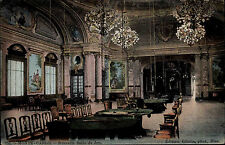 Monte Carlo Monaco Color Ansichtskarte ~1920/30 Casino Nouvelle Salle de Jeu