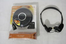 NEW 2007 Sony D-EJ017CK CAR READY Kit CD Player Walkman NIP w/MDR-24 Headphones