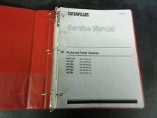 Caterpillar CAT Powered Pallet Walkies Service Manual   SENB6616-01