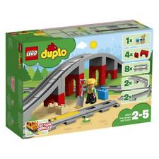LEGO DUPLO10872 Eisenbahnbrücke und Schienen