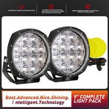 LED Driving Lights OSRAM 9 inch Spot Lights BANSIT Round Foglight New Design 4x4