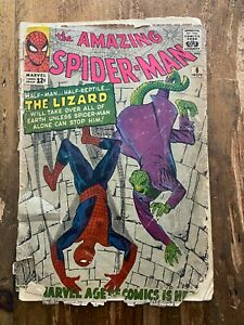 Amazing Spider-Man #6 MARVEL COMICS 1963 1st Appearance Lizard 6