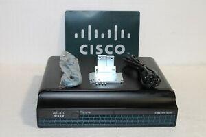 Cisco CISCO1941-SEC/K9 2-Port + 2 EHWIC Slots Gigabit Ethernet Router IP Base MW