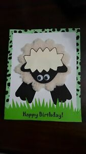 Happy Birthday hand made creative Card