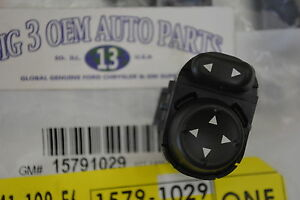 2005-2009 Buick LaCrosse Allure Side View Mirror Control Switch new OEM 15791029