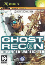 GHOST RECON ADVANCED WARFIGHTER for Xbox - with box & manual - PAL