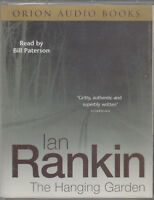 The Hanging Garden Ian Rankin 2 Cassette Audio Book Abridged DI Rebus FASTPOST