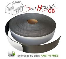 30m Acoustic Sound proofing BEST QUALITY resilient tape 30mm width x 3mm thick