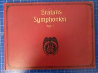 Brahms Symphonien Band I Berlin N.Simrock Edition Peters Noten B26542