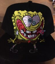 Official SPONGEBOB SQUAREPANTS SnapBack Hat. Brand New. One Size Fits All