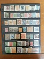 Russia and Ukraine Stamp Collection - Classics - Used & New - 2 Scans - W17