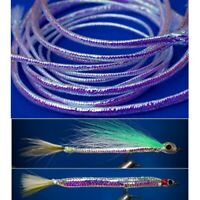 Flashabou Fly tying Lure making Sea Freshwater fishing for Bass Cod Pike Trout