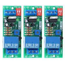 RD21N Zeitrelais Timing Timer Delay Relay Schalter Modul 5/12/24VDC f. Lüfter DE
