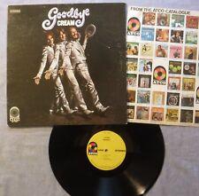 "Cream Goodbye LP Atco Records SD 7001 Stereo 1969 Inner No Poster ""MO"" GF VG+/VG"