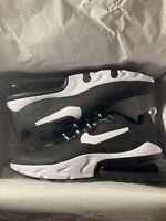 Nike Air Max 270 React BLACK WHITE AO4971-004 Men's Running Shoes Casual Comfort