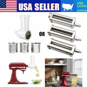 Kitchen Prep Slicer & Pasta Roller Cutter Attachment For Kitchenaid Stand mixer