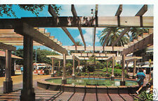 America Postcard - Lincoln Road Mall, Miami Beach, Florida   N91