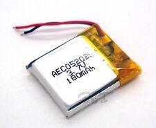 Li-polymer rechargeable Battery 3.7V 180 mAh 052025 Li-ion for bluetooth mp3 mp4