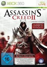 Assassin's Creed II -- Lineage Edition (Microsoft Xbox 360, 2010)