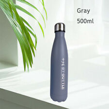 500ml Cola Stainless Steel Vacuum Insulated Water Bottle Thermos Flask Sport Kit