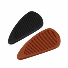 Retro Gas Tank Traction Pad Side Fuel Knee Protector Sticker for Harley Dyna BMW