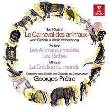 Saint-Saens / Pretre - Le Carnaval Des Animaux / Poulenc: Les Animaux [New CD]