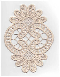 Romanian Handmade Point Lace Macrame
