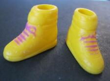 Barbie California Dream Doll Yellow High Top Tennis Sneaker Shoes Sun Beach 1987